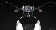 Hybrid concept motorbike